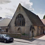 Front view of historic, listed church hall which was refurbished by Space Program Architects