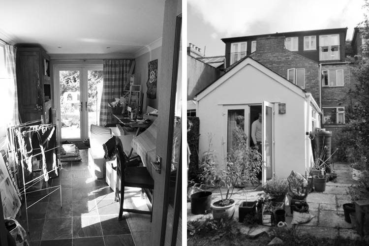 Before photos of Victorian terrace prior to extension by Space Program Architects